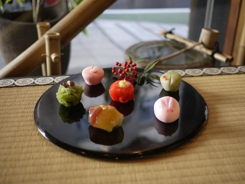 冬の生菓子